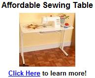 sewing table | quilting table