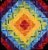 Rainbow Quilting Pattern