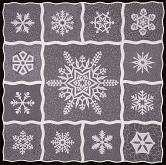 Winter Wonderland Quilt Pattern | Snowflake Quilt